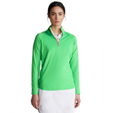 Performance Long Sleeve Airflow Quarter-Zip Pull Over