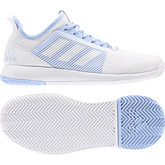 Alternate View 2 of adizero Defiant Bounce 2 Women's Tennis Shoe - Light Blue
