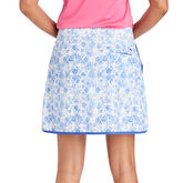 Vineyard Vines 17 Inch Tile Otomi Woven Golf Skort Blue Back