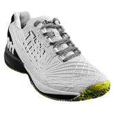 Wilson Kaos 2.0 Men's Tennis Shoe - White/Black