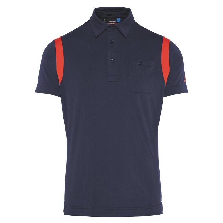 J Lindeberg Dolph Slim TX Jersey Polo