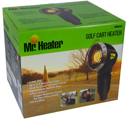 Golf Cart Mr. Heater