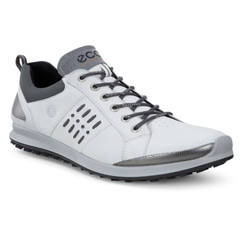 ECCO BIOM Hybrid 2 GTX Men's Golf Shoe - White/Black