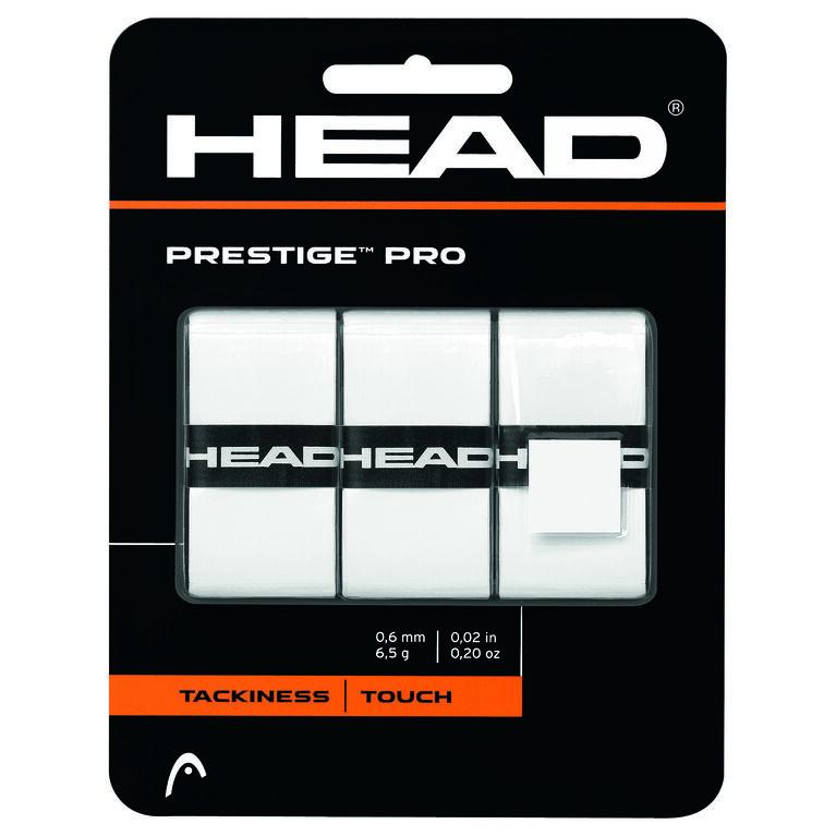 Prestige Pro Grip 3-Pack - White