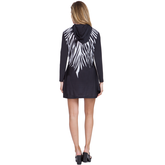 Alternate View 1 of Sunsense: Zebra Print Hooded Dress
