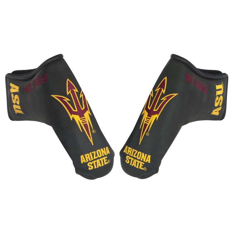 Team Effort Arizona State Black Putter Cover