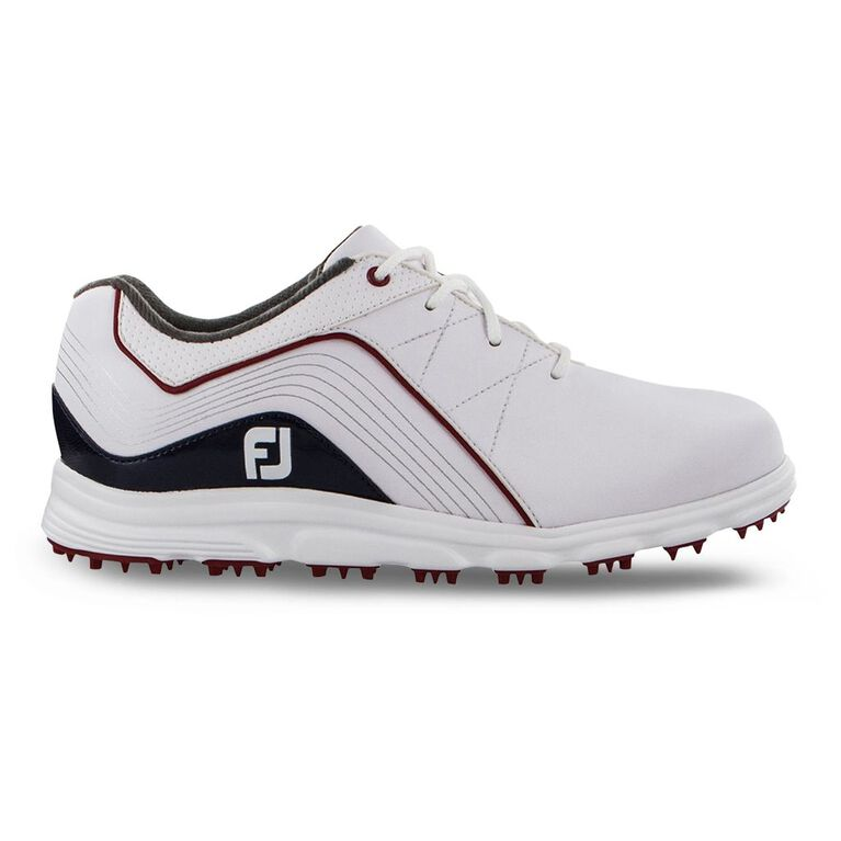 Pro/SL Junior Golf Shoe - Red/White/Blue