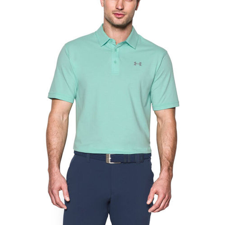 Under Armour Charged Cotton Scramble Men's Golf Polo Shirt