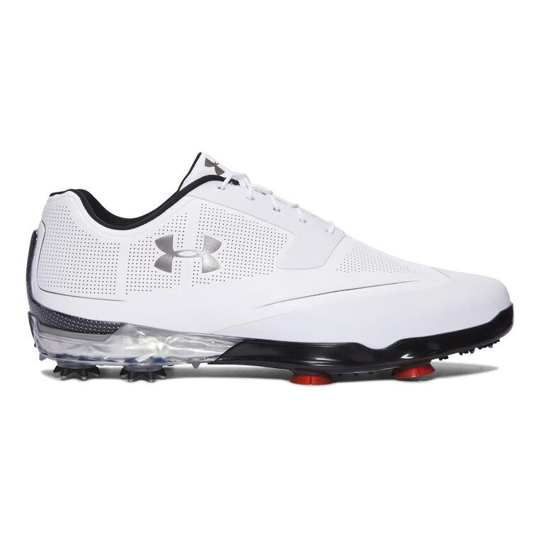 Under Armour Tour Tips Men's Golf Shoe - White/Black