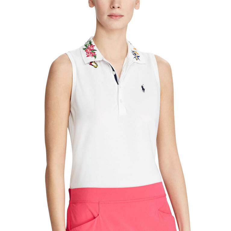 Ralph Lauren Golf Embroidered Sleeveless Polo