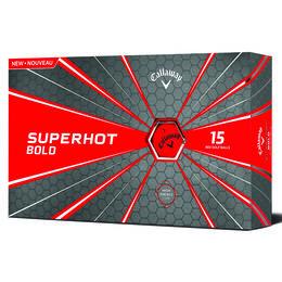 Callaway Superhot Bold Red Golf Balls 15-Pack