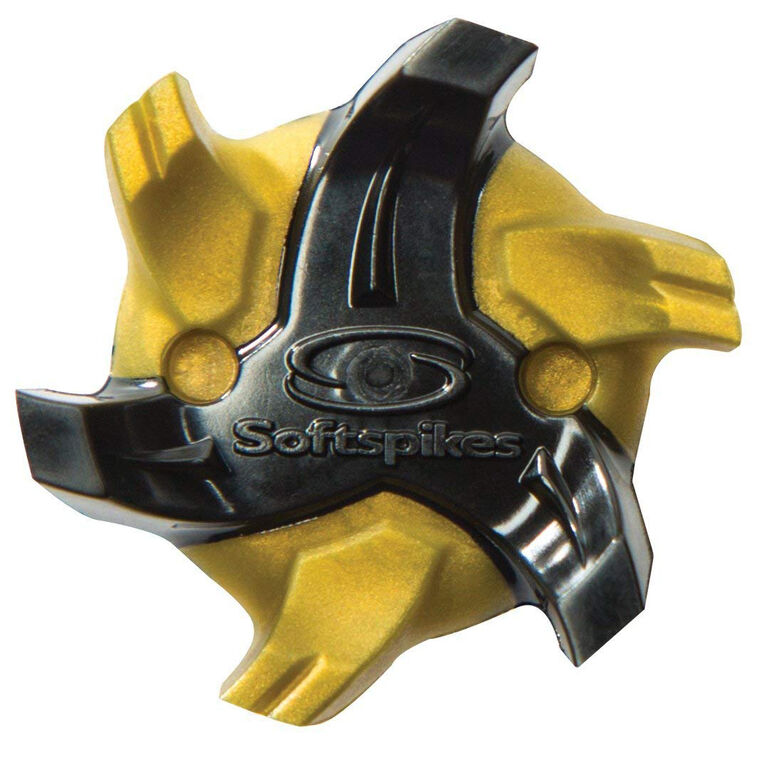 Cyclone Golf Cleats (Fast Twist) - Gold/Black
