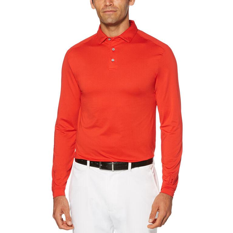 PGA Tour Long Sleeve Motion Flux Polo