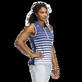 Alternate View 3 of Striped Sleeveless Polo Shirt