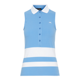 Alternate View 6 of Nora Ribbed SL Colorblock Polo