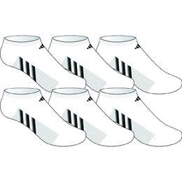 adidas Boys Graphic No-Show - 6 Pack
