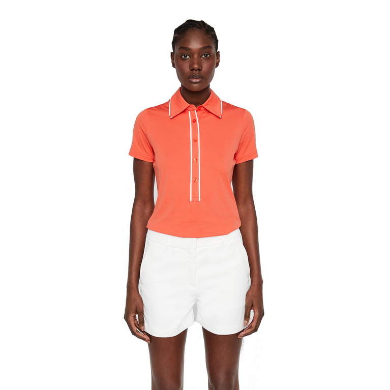 Flor Ultra Light Jersey Polo Shirt