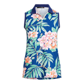 Alternate View 4 of Island Floral Sleeveless Polo Shirt