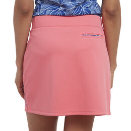 Rose Group: Solid Skort Piped
