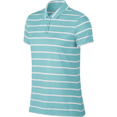 Dri-FIT Women's Short Sleeve Striped Golf Polo