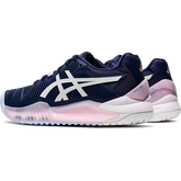Alternate View 3 of GEL RESOLUTION 8 Women's Tennis Shoes - Navy/White