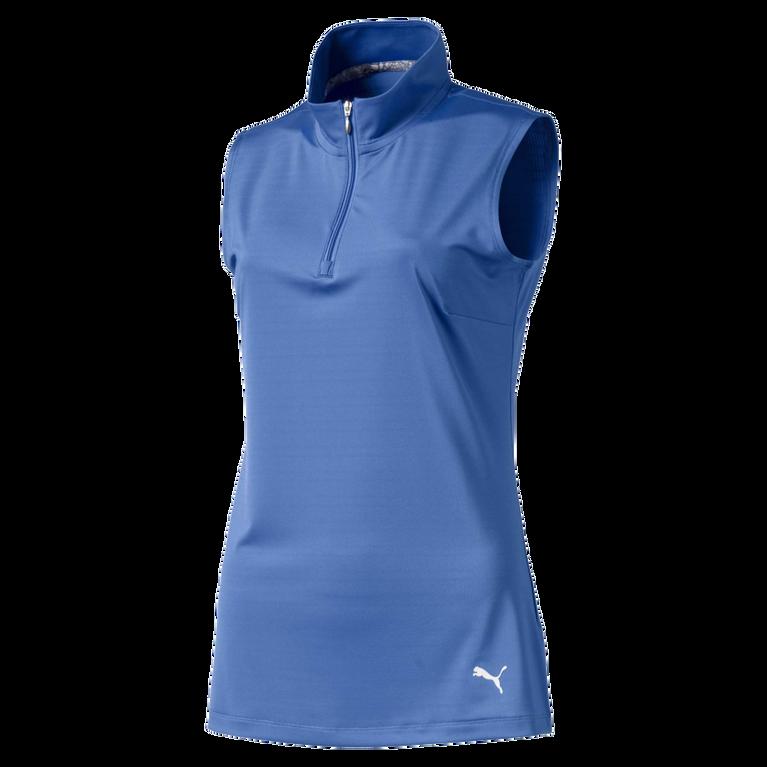 Sleeveless Mock Golf Shirt