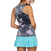 Alternate View 1 of Calypso Collection: Orchid Print Sleeveless Tank Top