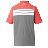 FootJoy Color Block Chest Stripe Polo