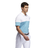 Alternate View 1 of Ultimate365 Heathered Blocked Polo Shirt