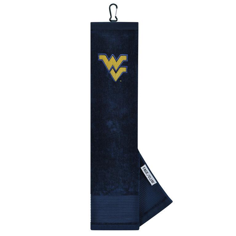 Team Effort West Virginia Mountaineers Tri-Fold Towel