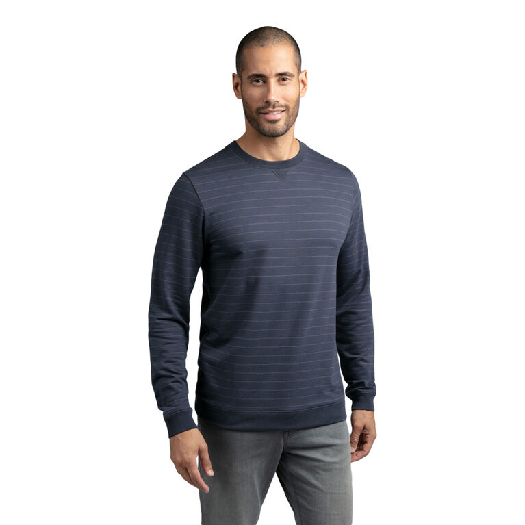 Carlin Long Sleeve Subtle Stripe Shirt