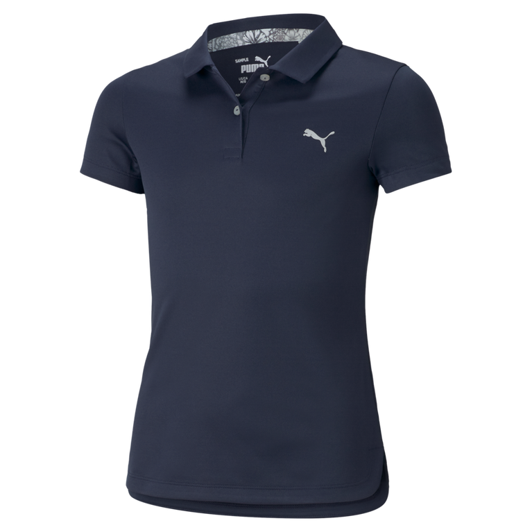 Girls Essential Short Sleeve Polo