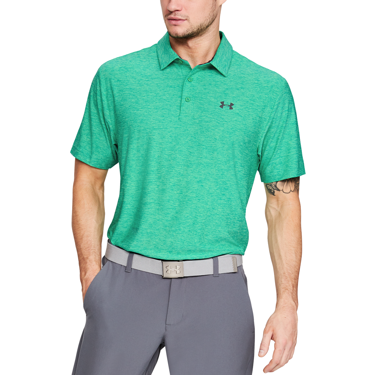 9575f97f Under Armour Golf Shirts Loose Fit