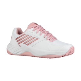 Aero Court Women's Tennis Shoe - White/Pink