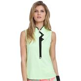 Super Nova Collection: Sleeveless Quarter Zip Shirt