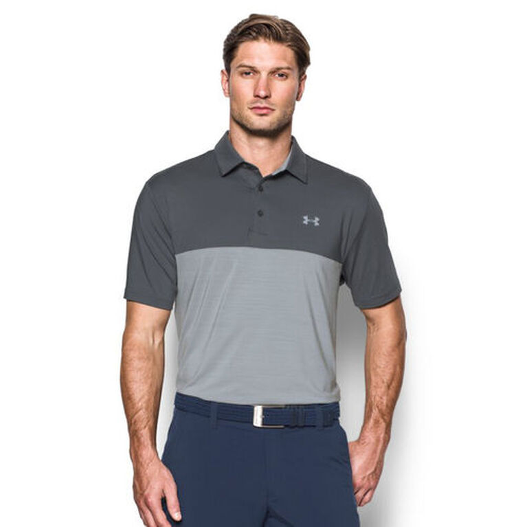 Under Armour Blocked Playoff Polo