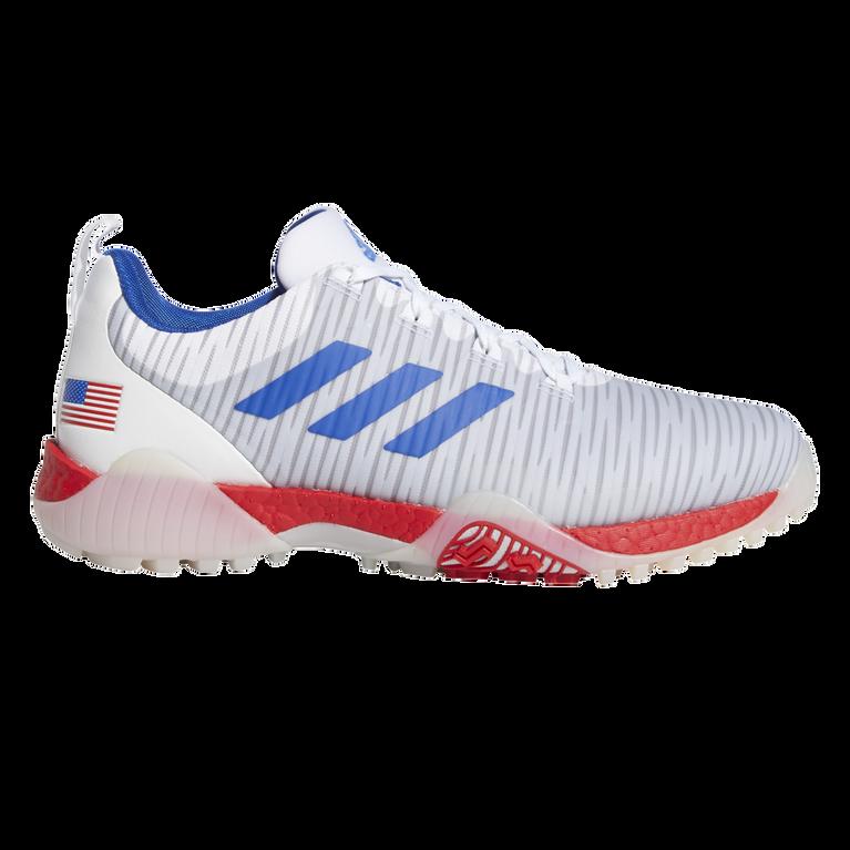 CODECHAOS USA Men's Golf Shoe - Red/White/Blue