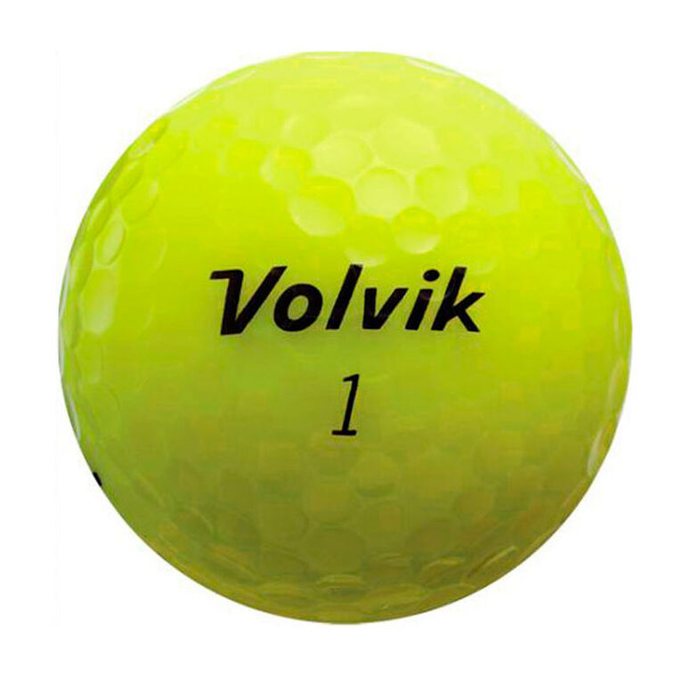 Volvik Crystal Yellow Balls - Personalized