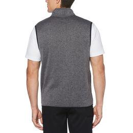 PGA TOUR Mens Heather Fleece Back Vest