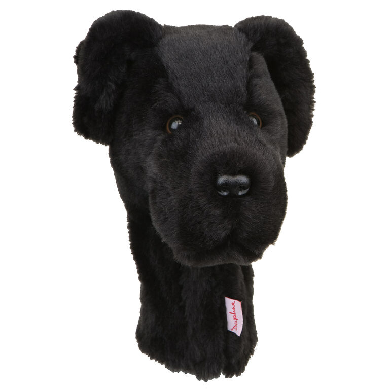 Daphnes Black Lab Headcover