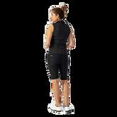 Alternate View 2 of Judy Striped Sleeveless Polo Shirt