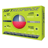 Alternate View 1 of Soft Response Red Golf Balls