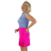 """Alternate View 1 of Rojito Collection:  Knife Pleat 15"""" Golf Skort"""