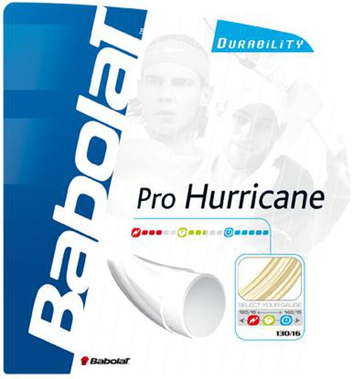 Babolat Pro Hurricane 16 Gauge String-Natural