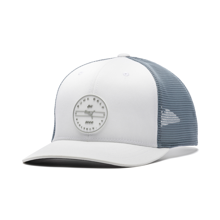 Trucker Circle Patch P110 Snapback Hat