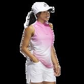Alternate View 3 of Primegreen Gradient Sleeveless Polo Shirt