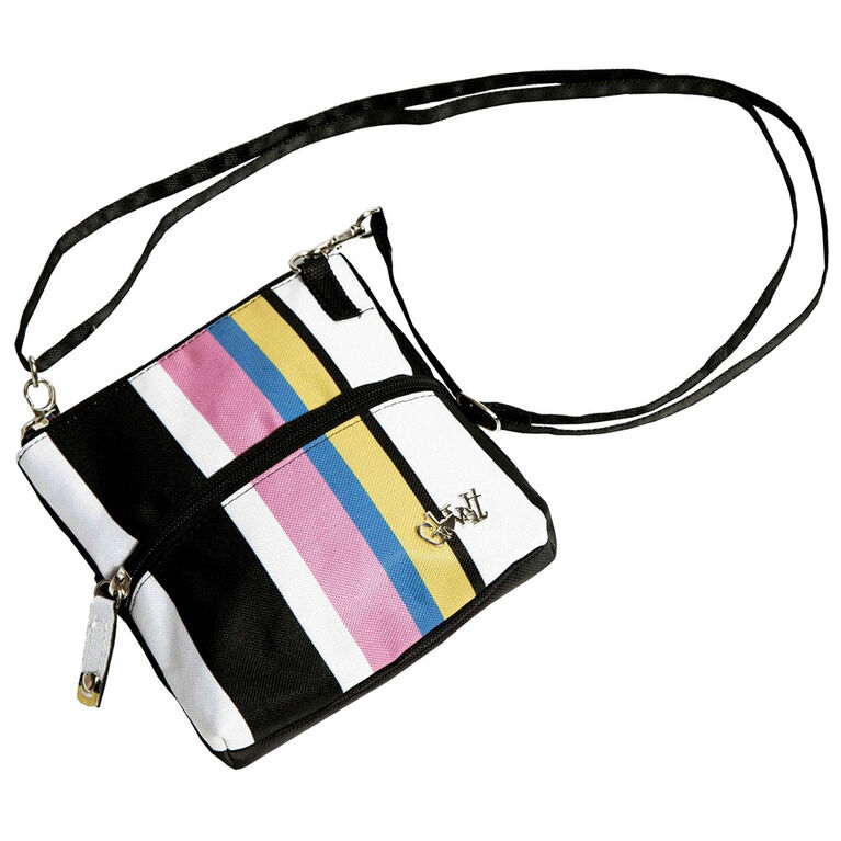 Glove It Cabana Stripe 2 Zip Bag
