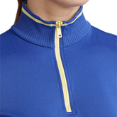 Alternate View 2 of Performance Golf Long Sleeve Tipped Quarter-Zip Pull Over