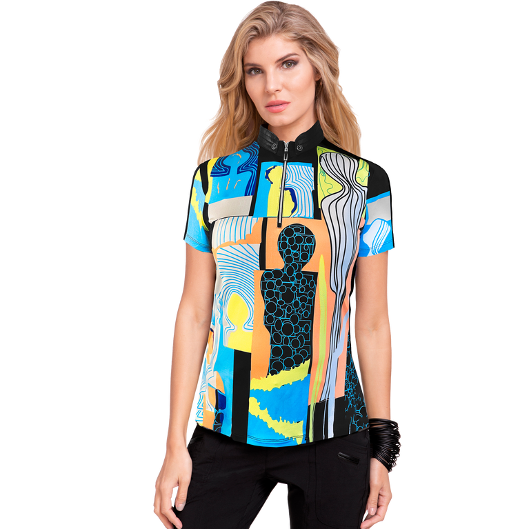 Shockwave Collection: Happy People Short Sleeve Top
