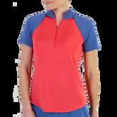 Dixie Group: Short Sleeve Zip Mock